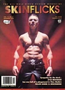 SKINFLICKS (Volume 18 #6 - December 1998) All-Male Video Review Magazine