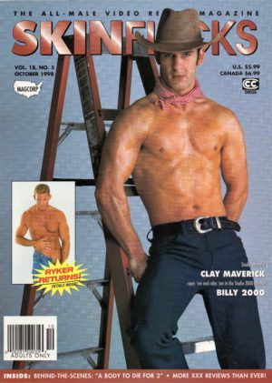 SKINFLICKS (Volume 18 #5 - October 1998) All Male Video Review Magazine