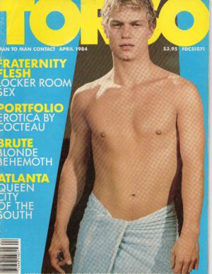 TORSO Magazine (April 1984) Gay Male Digest Magazine