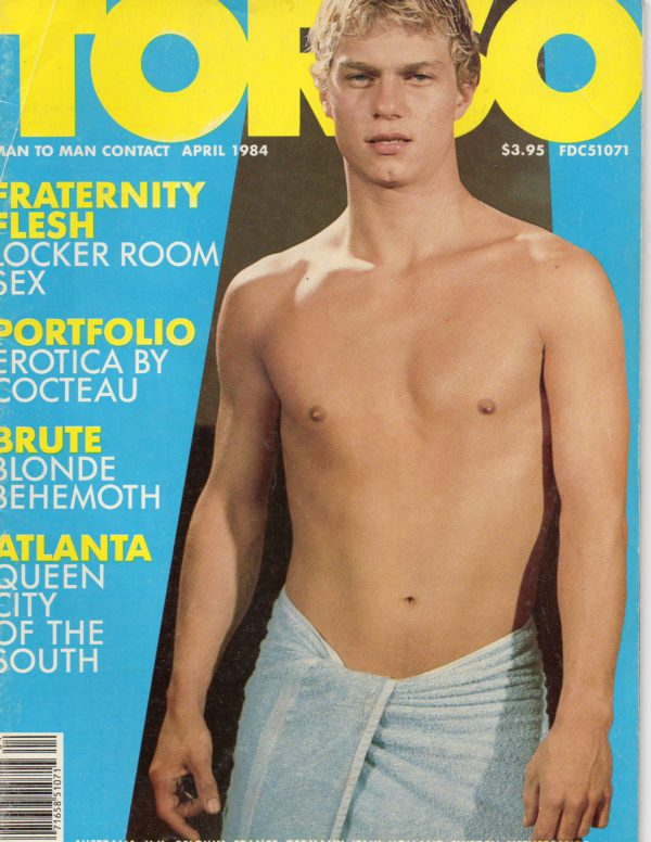 TORSO Magazine (April 1984) Gay Male Digest Magazine