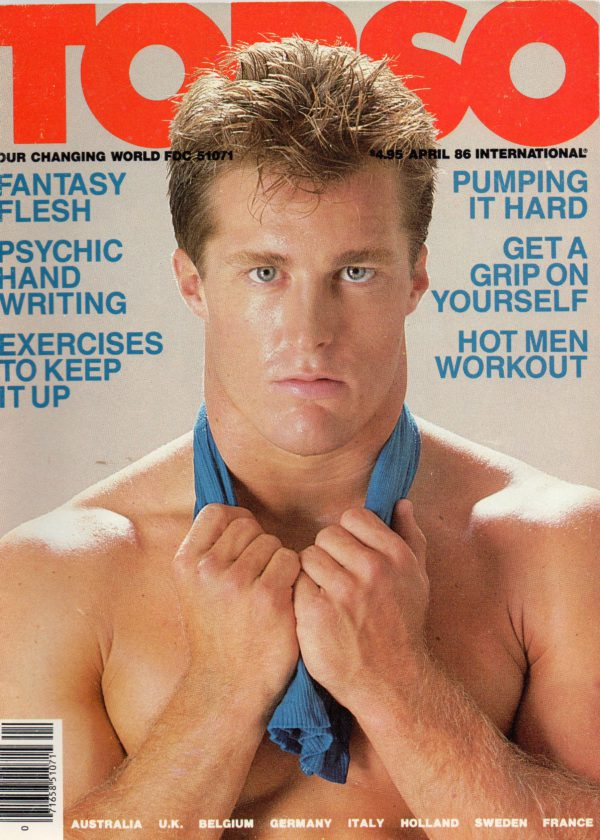 TORSO Magazine (April 1986) Gay Male Digest Magazine