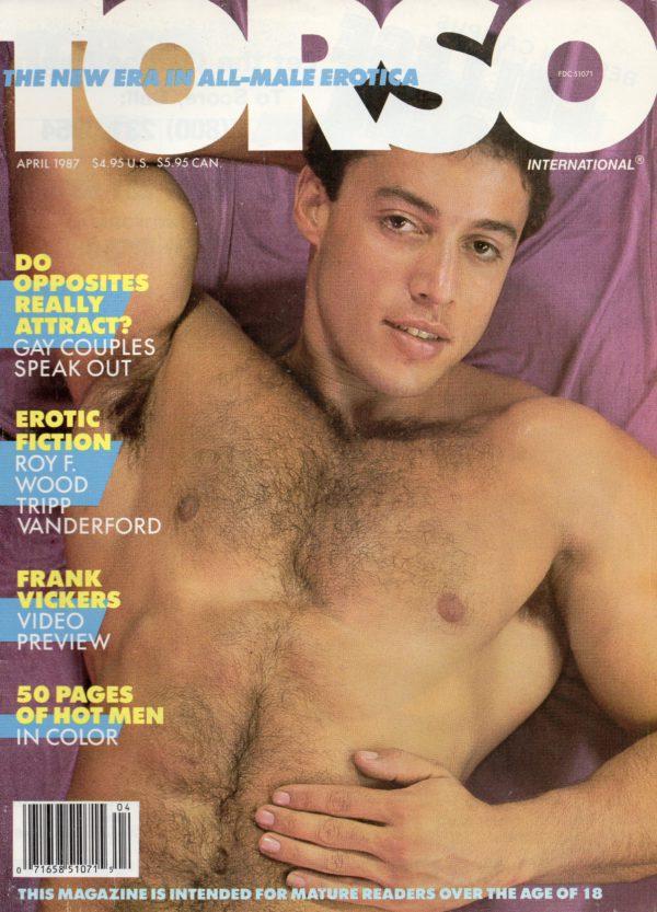 TORSO Magazine (April 1987) Gay Male Digest Magazine