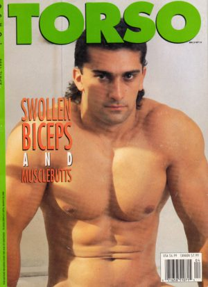 TORSO Magazine (April 1996) Gay Male Digest Magazine