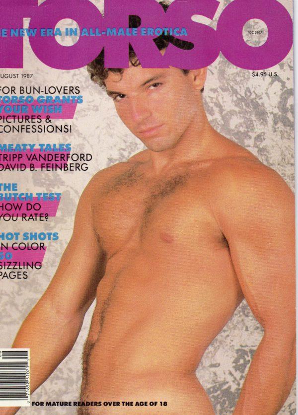 TORSO Magazine (August 1987) Gay Male Digest Magazine