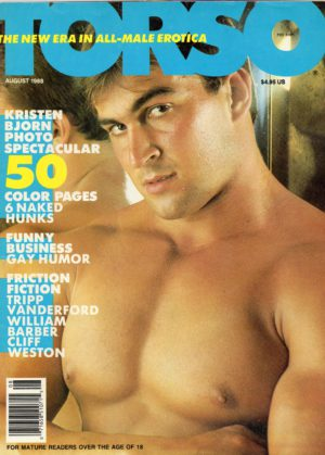 TORSO Magazine (August 1988) Gay Male Digest Magazine