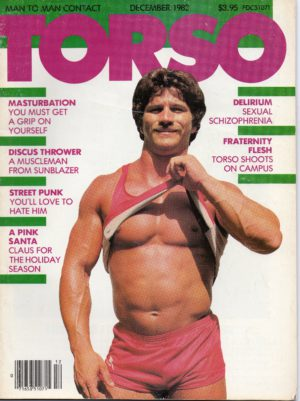 TORSO Magazine (December 1982) Gay Male Digest Magazine