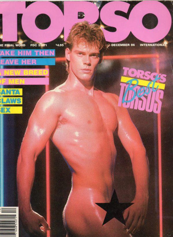 TORSO Magazine (December 1986) Gay Male Digest Magazine