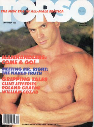 TORSO Magazine (December 1989) Gay Male Digest Magazine