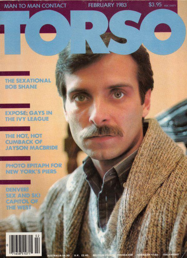 TORSO Magazine (February 1983) Gay Male Digest Magazine