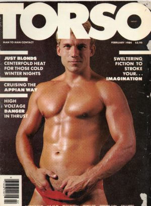 TORSO Magazine (February 1984) Gay Male Digest Magazine