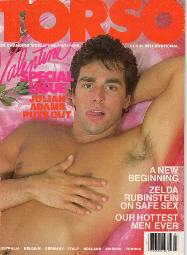 TORSO Magazine (February 1986) Gay Male Digest Magazine