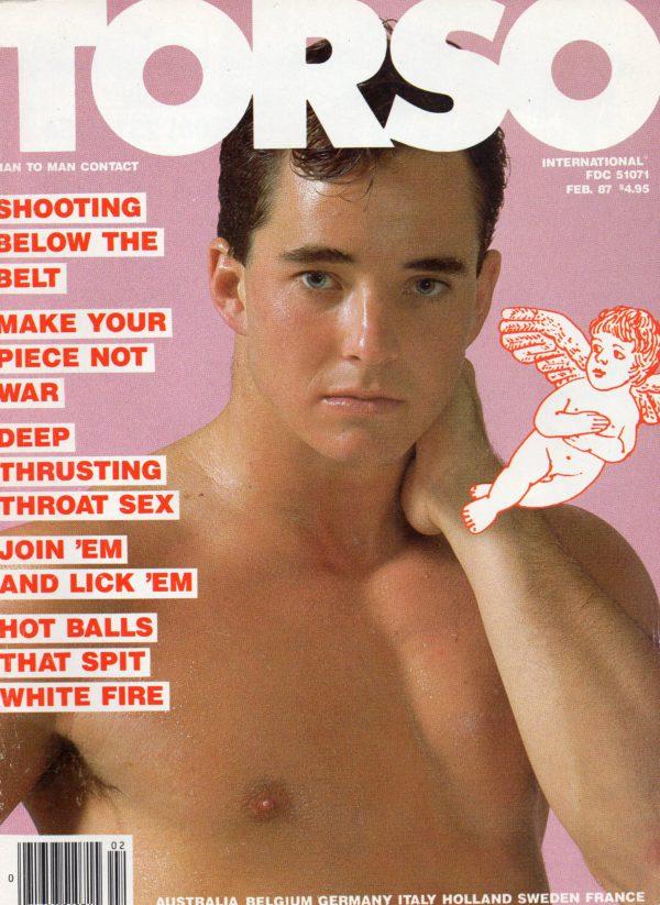 TORSO Magazine (February 1987) Gay Male Digest Magazine