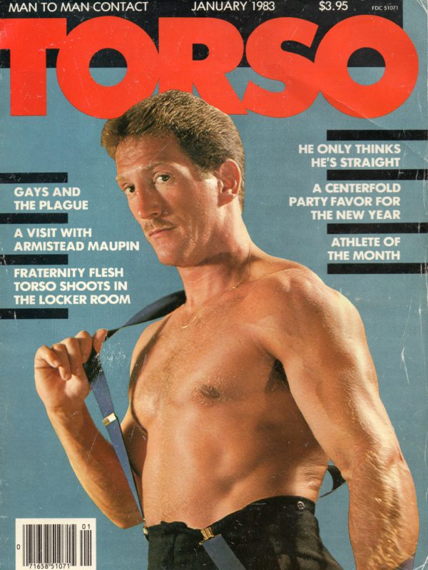 TORSO Magazine (January 1983) Gay Male Digest Magazine