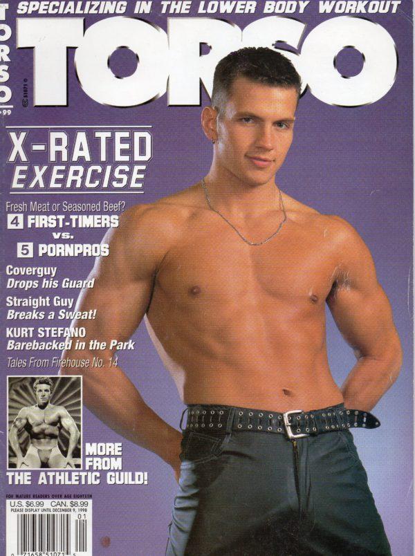 TORSO Magazine (January 1999, Volume 16, Number 6) Gay Male Digest Magazine