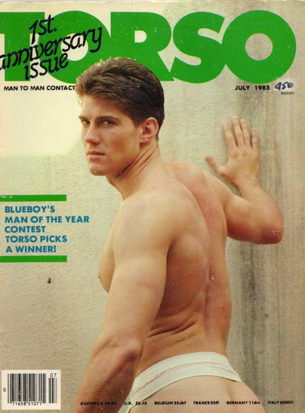 TORSO Magazine (July 1983) Gay Male Digest Magazine