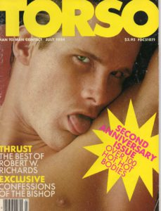 TORSO Magazine (July 1984) Gay Male Digest Magazine