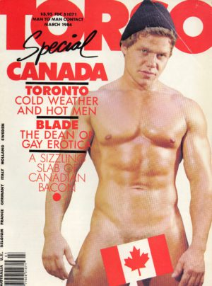 TORSO Magazine (February 1985) Gay Male Digest Magazine