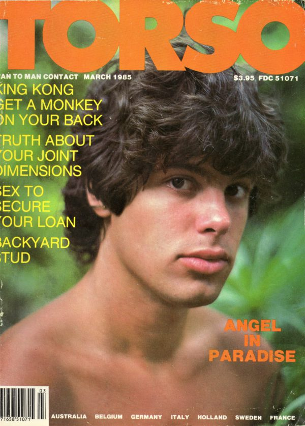 TORSO Magazine (March 1985) Gay Male Digest Magazine