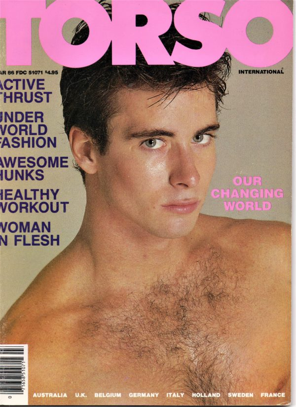 TORSO Magazine (March 1986) Gay Male Digest Magazine