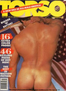 TORSO Magazine (March 1987) Gay Male Digest Magazine