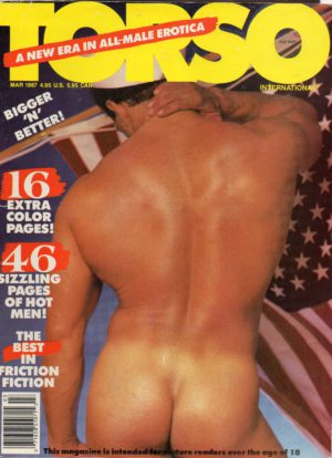 TORSO Magazine (March 1987) Gay Male Digest Magazine