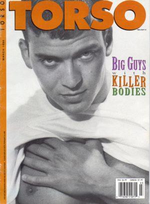 TORSO Magazine (March 1996) Gay Male Digest Magazine