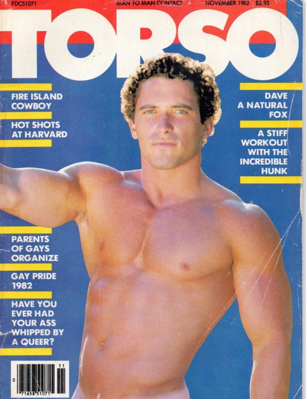 TORSO Magazine (November 1982) Gay Male Digest Magazine