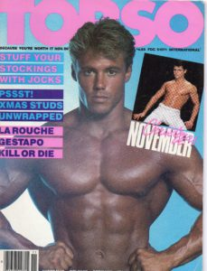 TORSO Magazine (November 1986) Gay Male Digest Magazine