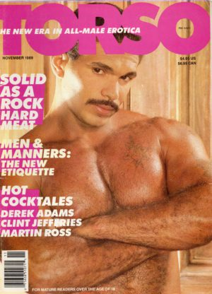 TORSO Magazine (November 1989) Gay Male Digest Magazine