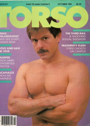 TORSO Magazine (October 1982) Gay Male Digest Magazine