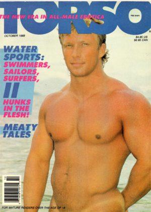 TORSO Magazine (October 1988) Gay Male Digest Magazine