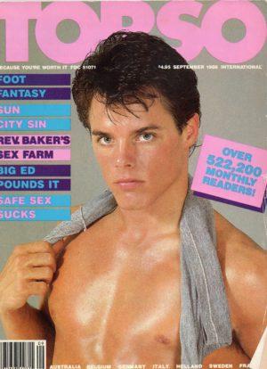 TORSO Magazine (September 1986) Gay Male Digest Magazine