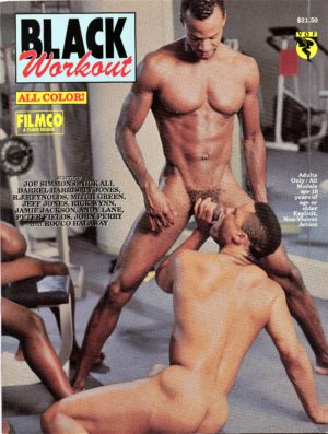 Catalina Video Presents - BLACK WORKOUT - Gay Full ALL Color Illustrated Photo Magazine