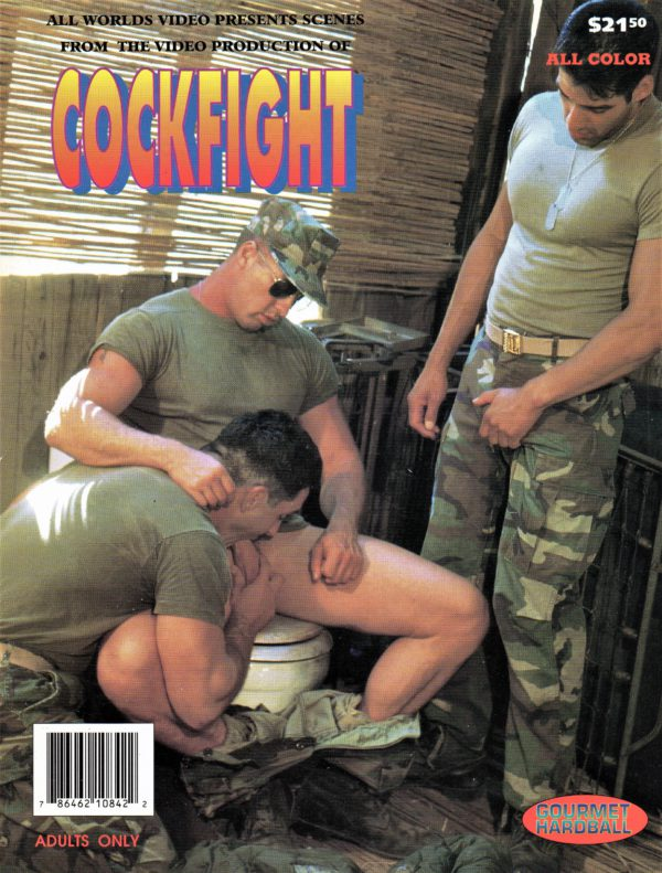 All Worlds Presents - COCK FIGHT - Gay Full ALL Color Illustrated Photo Magazine