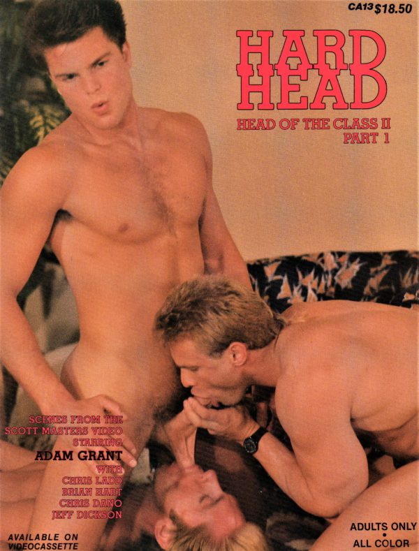 Catalina Video Presents - HARD HEAD - Gay Full ALL Color Illustrated Photo Magazine