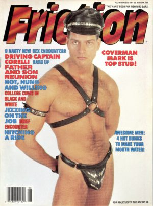 "FRICTION Magazine (August 1991) The ""Hand"" Book for Men Who Dare!"