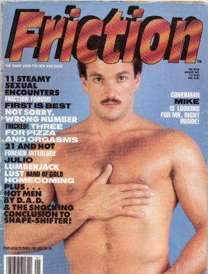 "FRICTION Magazine (January 1991) The ""Hand"" Book for Men Who Dare!"