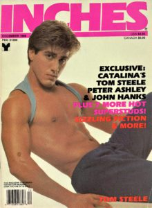 INCHES Magazine (December 1988) Gay Pictorial Lifestyle Magazine