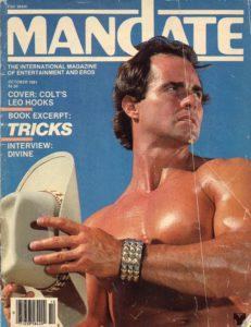 MANDATE Magazine (October 1981) Gay Pornographic Publication