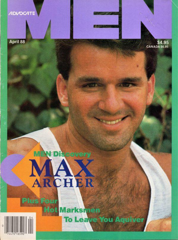 ADVOCATE MEN Magazine (April 1988) Male Erotic Magazine