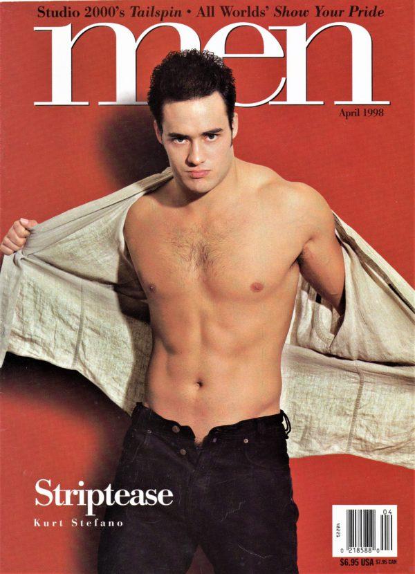 MEN Magazine (April 1998) Male Erotic Magazine