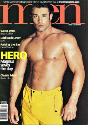 MEN Magazine (February 2002) Male Erotic Magazine