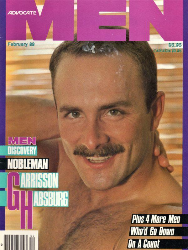 ADVOCATE MEN Magazine (February 1989) Male Erotic Magazine