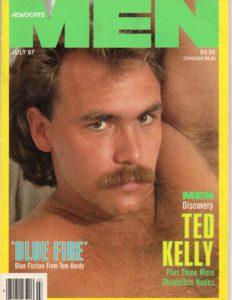 ADVOCATE MEN Magazine (July 1987) Male Erotic Magazine