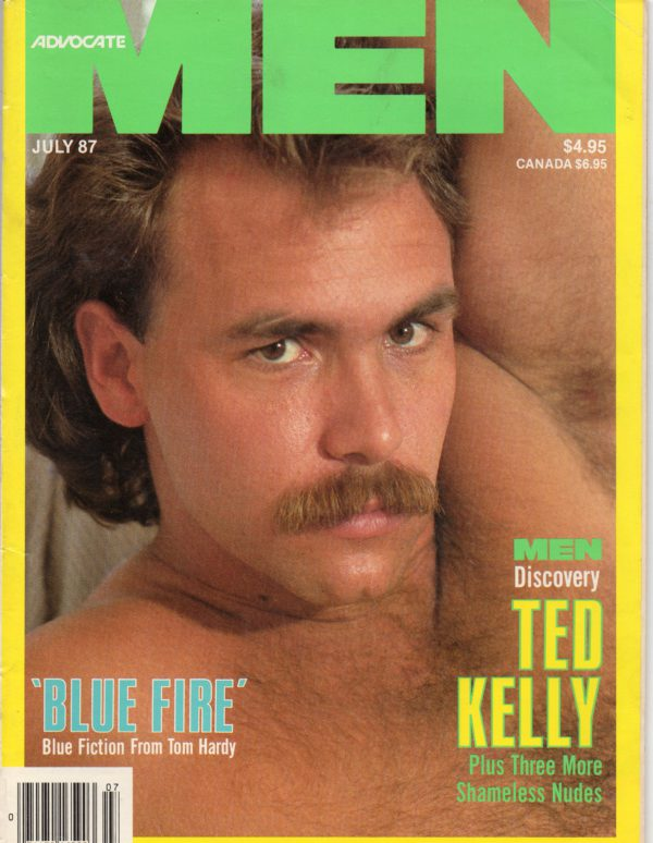 ADVOCATE MEN Magazine (July 1987) Male Erotic Magazine