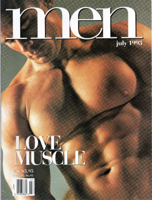 ADVOCATE MEN Magazine (June 1993) Male Erotic Magazine