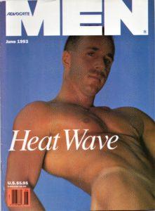 ADVOCATE MEN Magazine (June 1993) Male Erotic Magazine