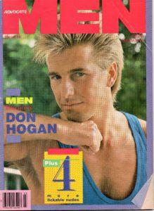 ADVOCATE MEN Magazine (March 1988) Male Erotic Magazine