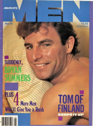 ADVOCATE MEN Magazine (May 1989) Male Erotic Magazine
