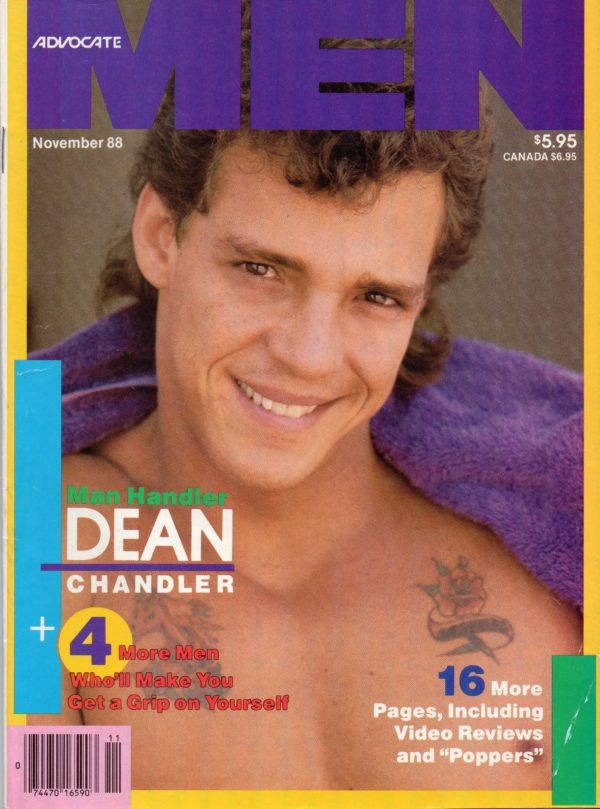 ADVOCATE MEN Magazine (November 1988) Male Erotic Magazine